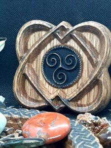 coeur celte et triskel artforwicca
