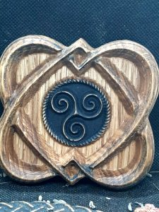 coeur celte et triskel